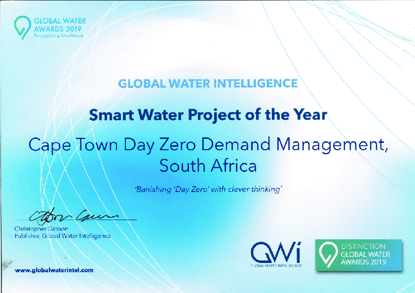 Smart Water Project of the Year